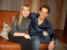 Со своим тренером и другом Сержем Жиларди