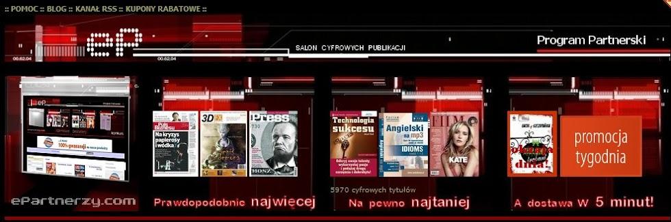 Kupony Promocyjne ePartnerzy.com - ebooki, eprasa, audiobooki - prezenty, promocje, rabaty