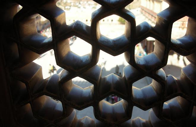 Jaipur Palace, Rajasthan. December 2007.