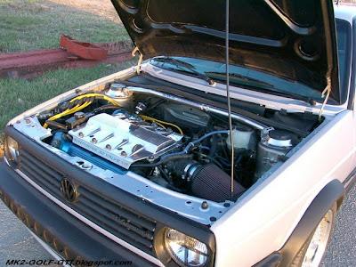 MK2 GOLF GTI engine