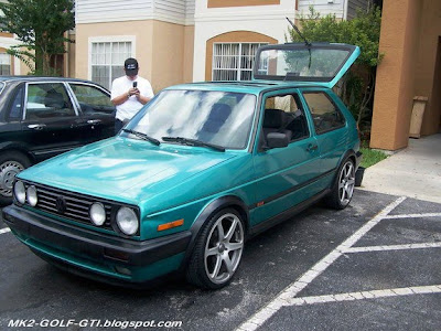 GOLF 2 with 18 inch wheels