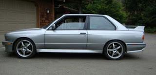 BMW E30 M3 V8
