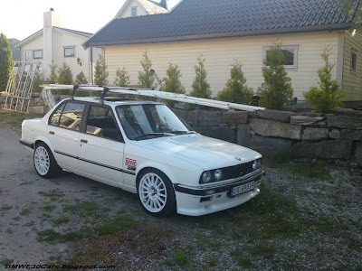 BMW E30 Roof Racks