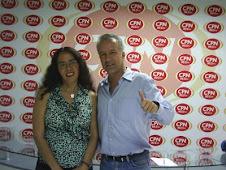 Nano Guerra,PERU EMPRENDEDOR,con Francis Linares, organizadora Ag. OPS