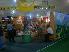 Visitando la Feria del Libro Ricardo Palma 2009