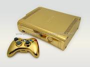 Xbox 360 de Ouro. Postado por Francesco L.C.S.M. às 11:46