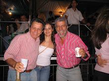 Eu e meu tio e meu pai!