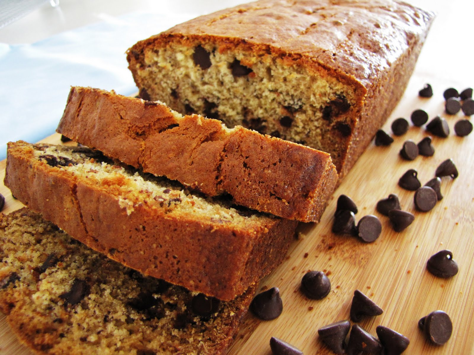 What the Hart Likes: choc chip banana bread recipe