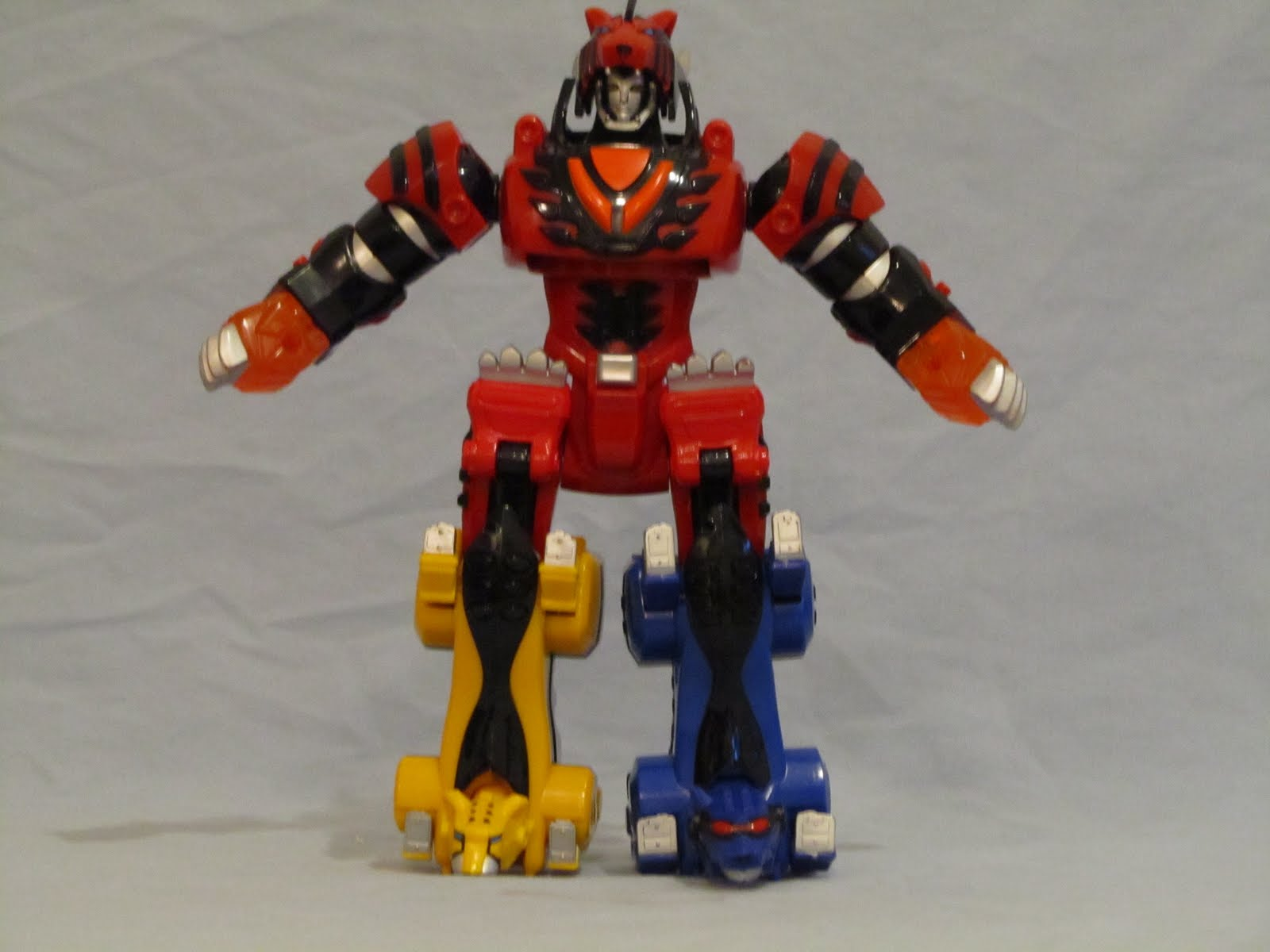 Power Rangers Jungle Fury Jungle Pride Megazord Power Rangers Jungle Fury