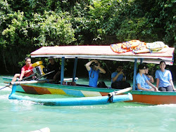 Perahu ke Green Canyon