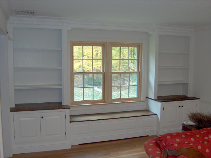 Life and style a to z b is for built ins - Dining room built ins ...