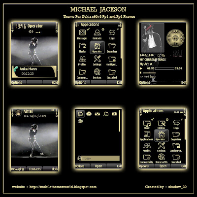 Michael Jackson Gold Theme