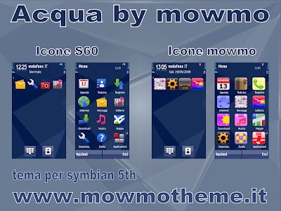 Acqua by Mowmo 5800 theme