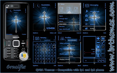 Crucifix by Blue_Ray – QVGA themes for fp1 and fp2 phone