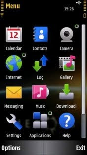 Heroes by Olek21 symbian 5th theme