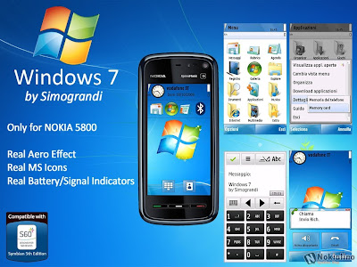 Windows 7 By Simograndi for nokia 5th