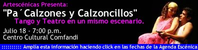 PUBLICIDAD CENTRO CULTURAL COMFANDI JULIO 18 DE 2008