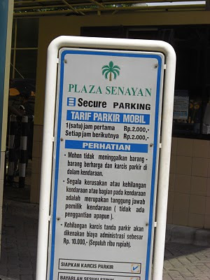 Puzzling policy: price controls on private-sector parking