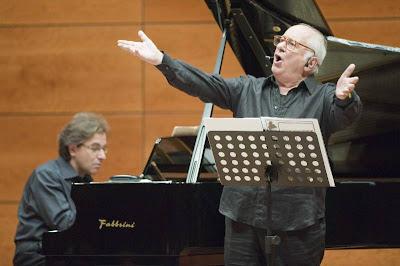 Elio Pandolfi e Marco Scolastra