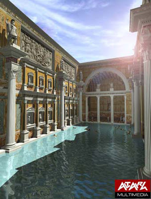 swimming swimming in ancient rome caracalla and pompeii. Black Bedroom Furniture Sets. Home Design Ideas