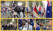 Australian and New Zealand Army Corps (ANZAC) Day. A day of commemoration, . (apr anzac day collagea)