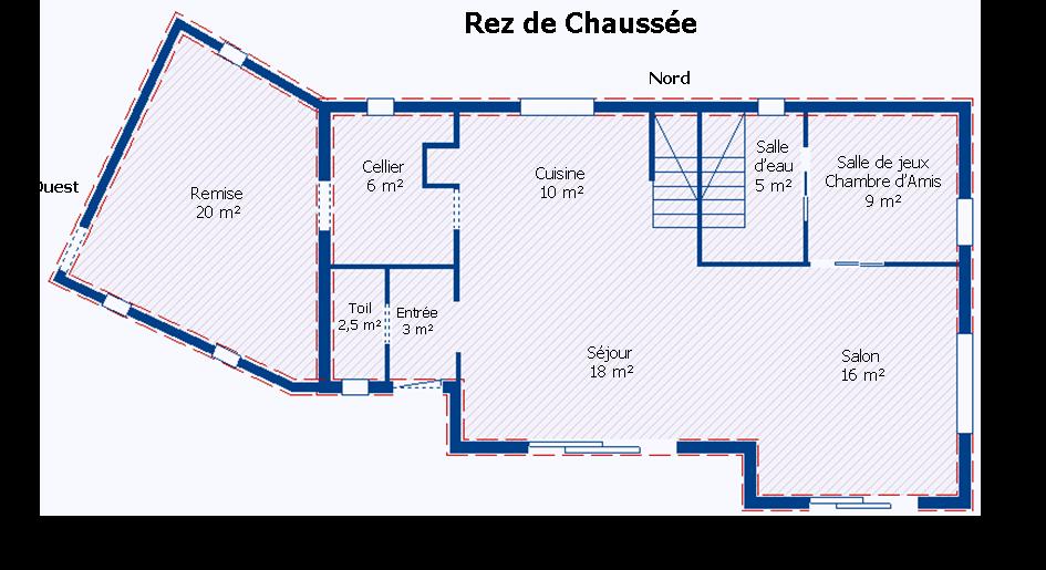Plan maison 3d avec toiture - Faire son plan de maison en 3d ...