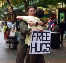 Foto Free Hugs