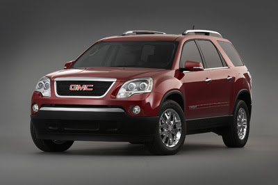 Luxury 2009 GMC Acadia Photos