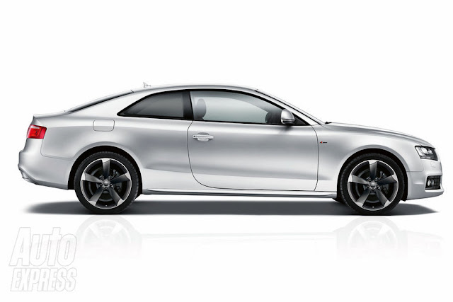 New Audi A5 Black Edition. its new Black Edition spec