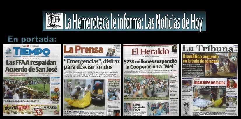 La Hemeroteca le Informa