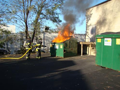 dumpster fire
