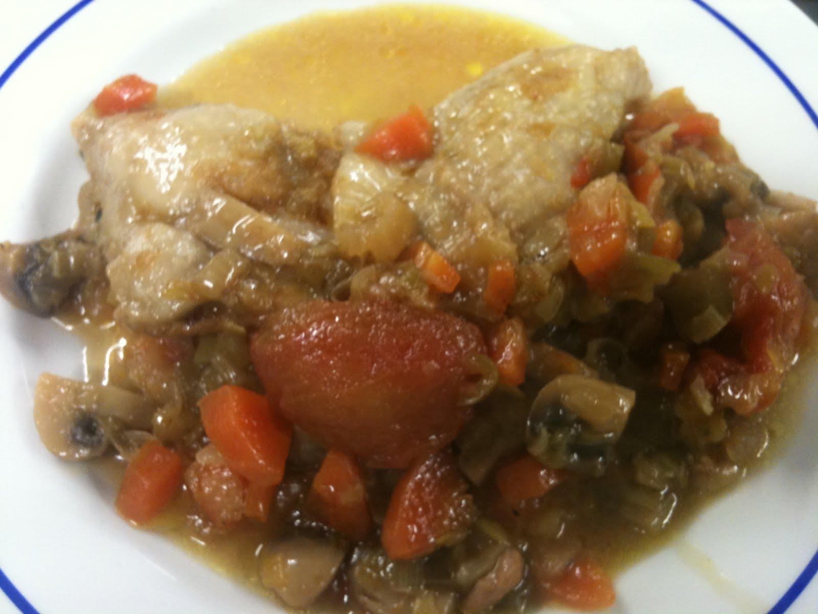 Muslos de pollo en salsa agridulce receta tattoo design bild - Como cocinar pollo al horno ...