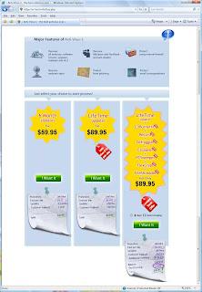 Antivirus 1 Payment system