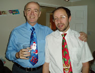 Chris & Richard on Christmas Day 2009