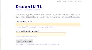 Decent URL