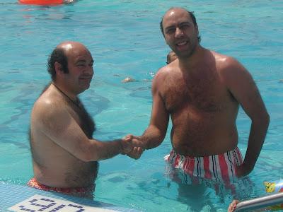 Hermínio Loureiro em reunião com Vitor Peliteiro