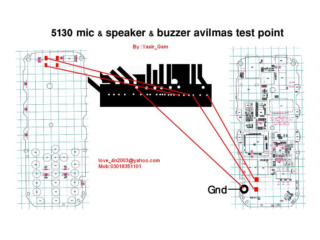 Nokia 5130 Mic Speaker Buzzer New Solution