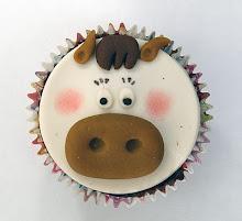 Cupcake de vaquinha.