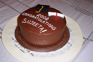 Cheap Graduation Cake