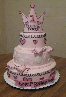 Princess 1st Birthday Cakes Ideas