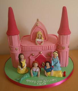 Simple Disney Princess Birthday Cakes