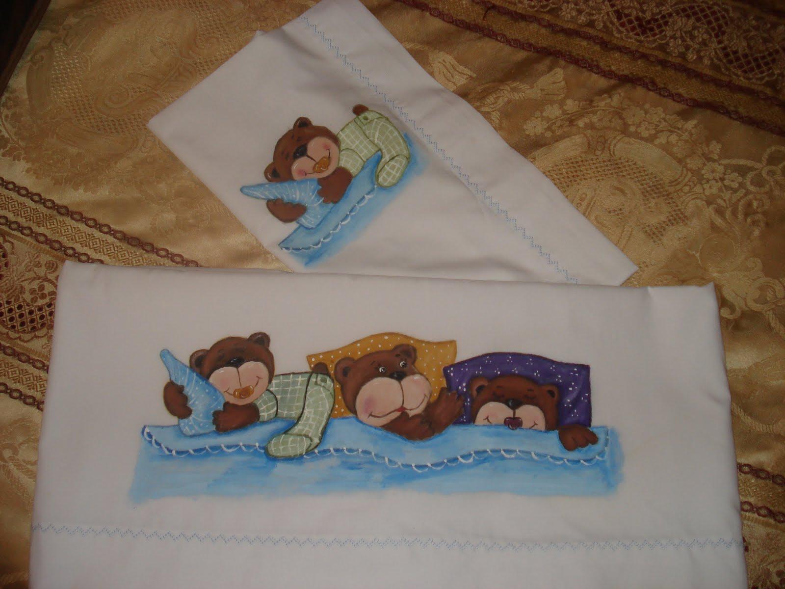 Patrones para pintar tiernos juegos de baño - Imagui