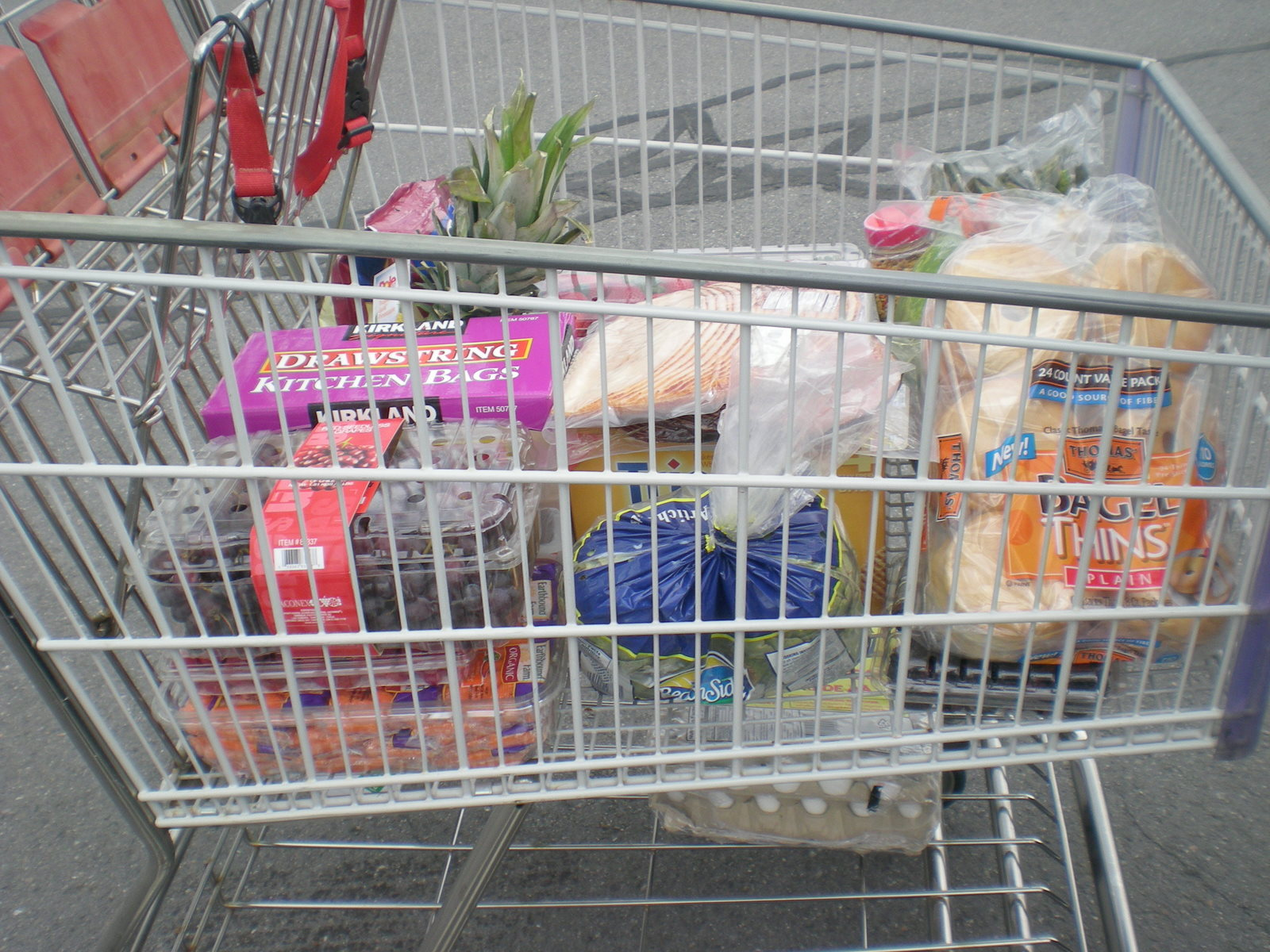 Today when I was grocery shopping, I was over looking what was in my ...