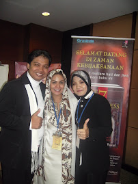 KD dalam training T7A  dengan Nanang Qosim Yusuf dan Chief T7A, Dewi Umronih Yusuf