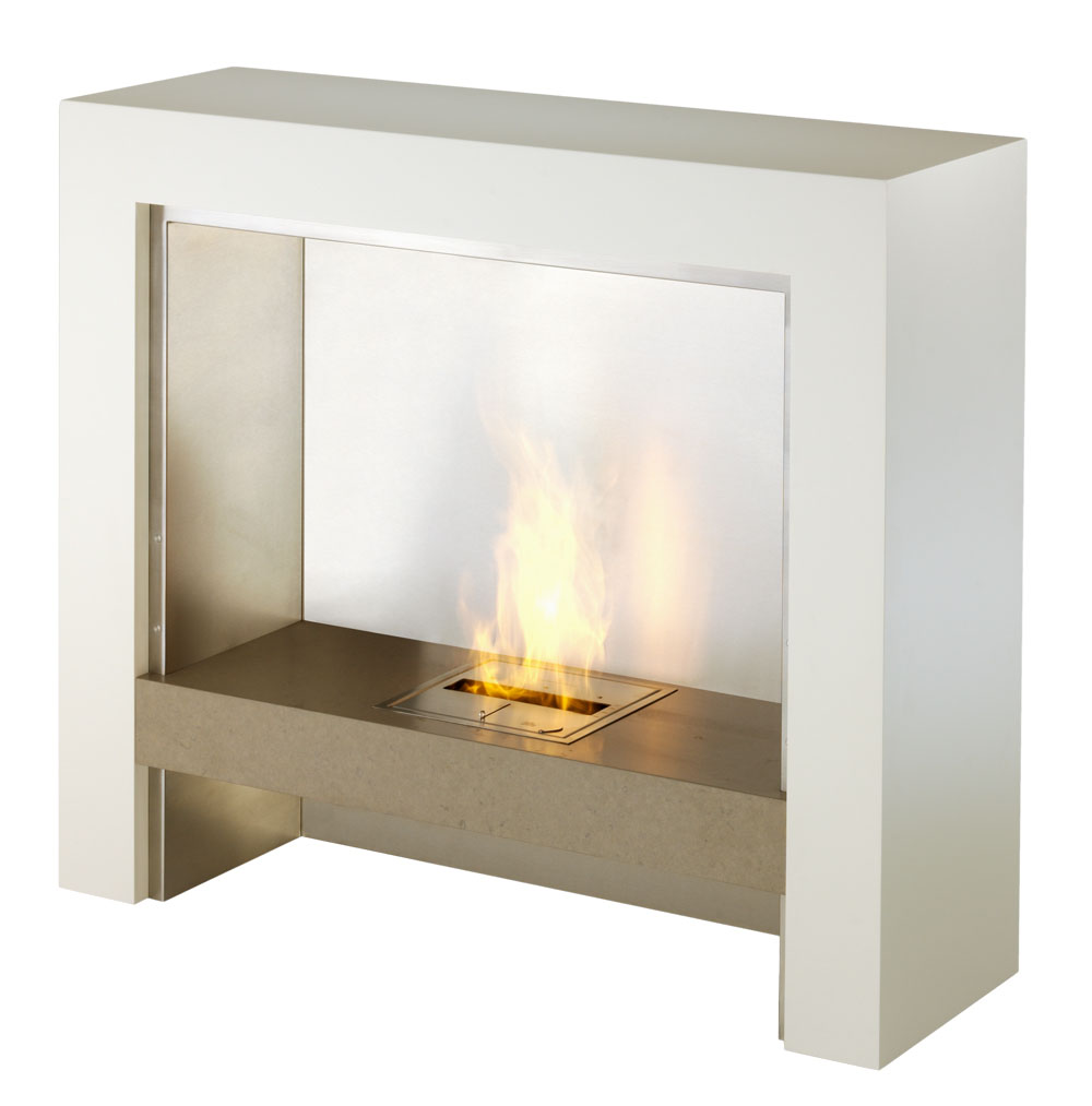 Element modern ventless designer fireplace for Ventless fireplace modern