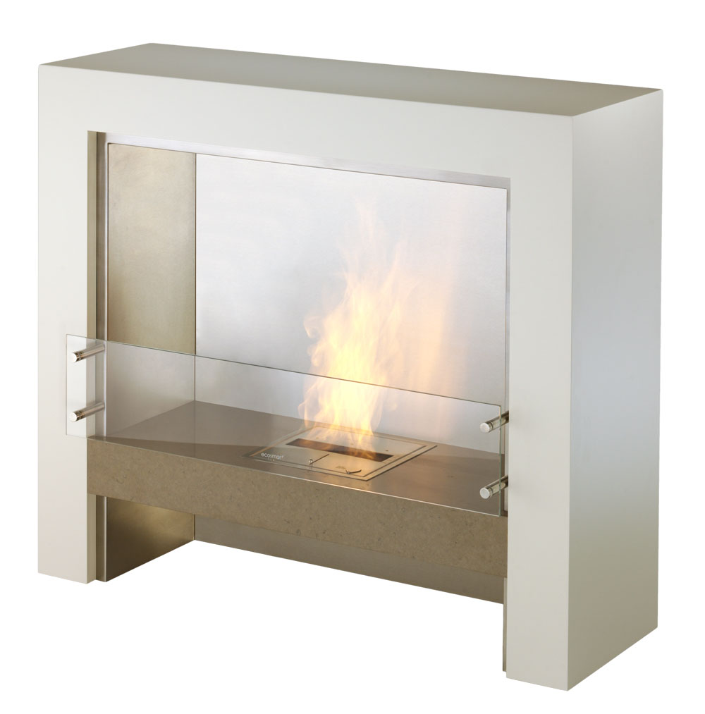 modern interior design element modern ventless designer fireplace