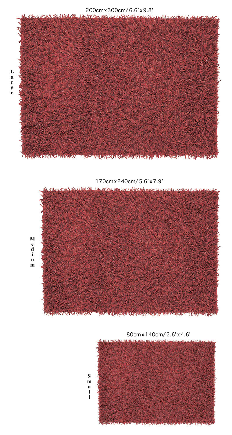 how to clean a high pile area rug