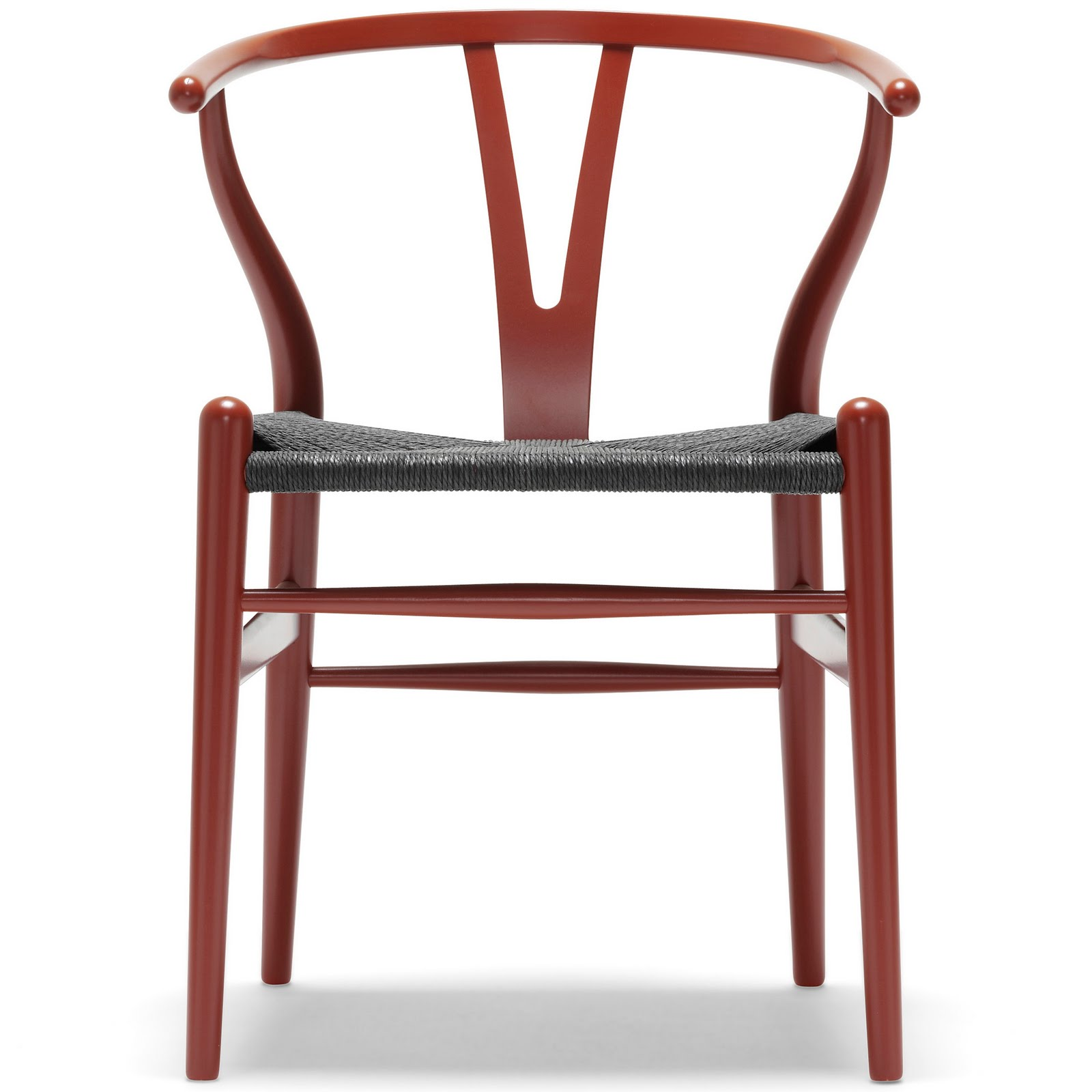 modern interior design Hans Wegner s Danish Wishbone Wood Y Chair