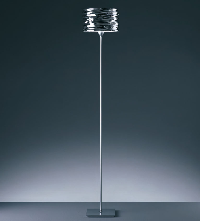 Contemporary floor lamps chrome interior design meaning for Modern contemporary floor lamp