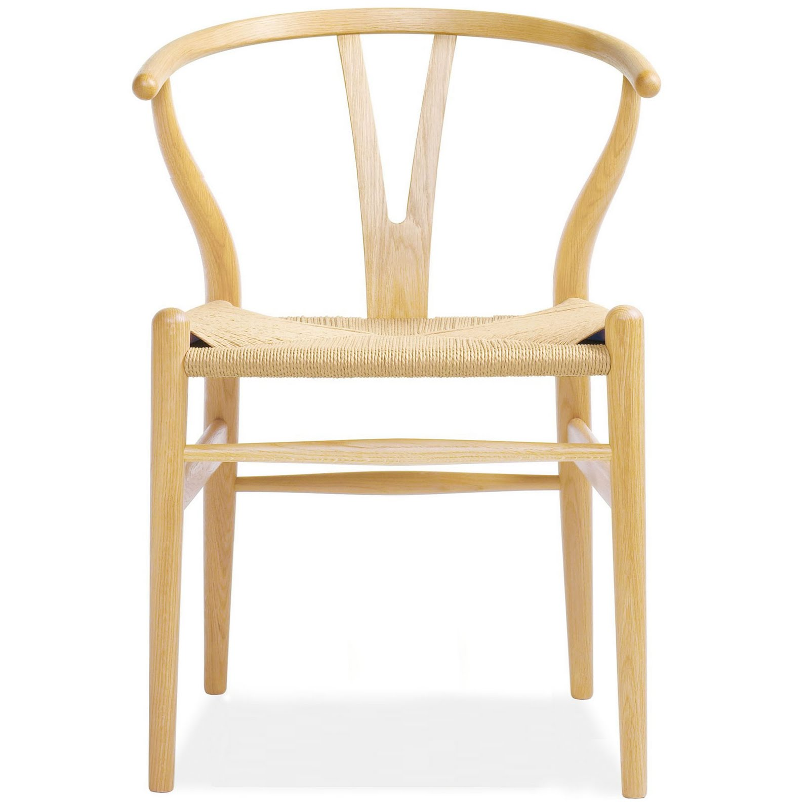 danish hans wegner 39 s wishbone chair in oil lacquered oak natural